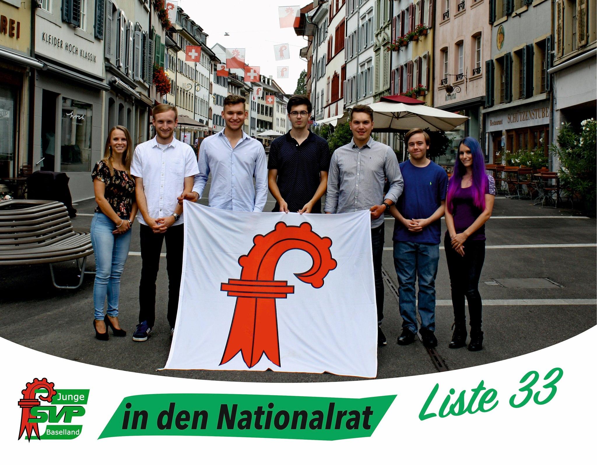 Wir kandidieren für den Nationalrat
